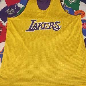 c96bfc015 Champion Shirts - Vintage Champion reversible Lakers practice jersey